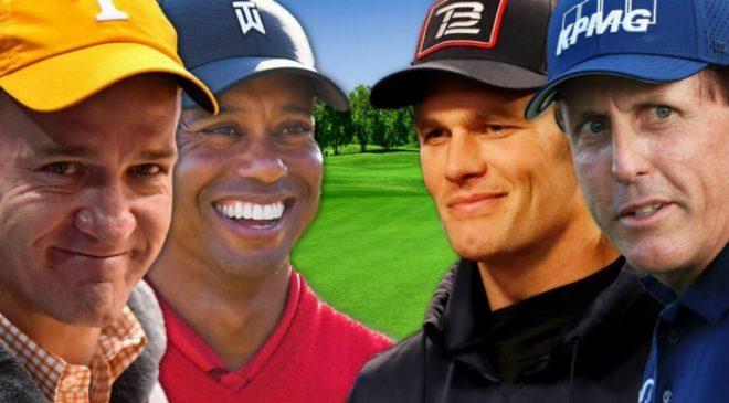 Tiger Woods dan Peyton Manning Disukai Terhadap Phil Mickelson dan Tom Brady